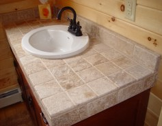 Tumbled Marble Countertops